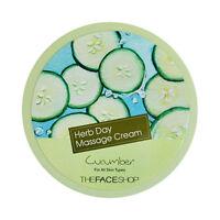 [THE FACE SHOP] Herb Day Massage Cream - 150ml #Cucumber ROSEAU