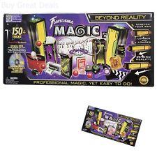 150 Magic Tricks Set + Instructional Learning DVD Magician Wizard Illusion Kit