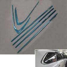 For Mitsubishi Outlander 13-16 Steel Door Window Sill Frame Stripe Cover Trim