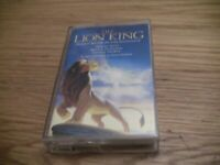 1994 The Lion King Original Movie Soundtrack Cassette Matthew Broderick