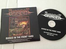 """Rumpelstiltskin Grinder """"buried in the front yard"""" CD PROMO 2005 Relapse Rec"""
