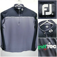 FootJoy FJ Mens XL Quarter Zip Golf Pullover Sweater Polyester GolfTec 1/4 Zip
