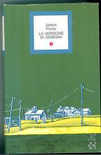 PURDY JAMES LA VERSIONE DI GEREMIA CLUB DEGLI EDITORI 1973 UN LIBRO AL MESE N11