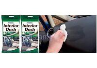 80 INSTANT CAR INTERIOR DASH BOARD SHINE WIPES CAR PRIDE CLEAN RESEALABLE BAG