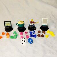 Trivial Pursuit 90s Edition Parts Pieces - Replacement Game Pieces, Wedges, Dice