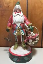 """Vintage House Of Hatten Enchanted Forest St Nicholas With Goose Denise Calla 11"""""""