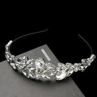 1 pc Women Hair Hoop Bridal Baroque Style Headband Headdress for Party Banquet