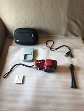 Canon PowerShot SX170 IS 16.0 MP Camera - RED~~MINT~~16GB SD~~Bundle~~