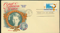 Pearl Buck Great American Woman 1975  Fleetwood Special Cachet Unaddressed