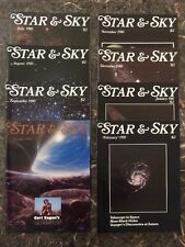 Star & Sky - Lot of 8 Issues from 1980 - 1981!