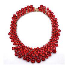 Cadena de Señora Traje Fiesta Choker Collar Statement Y50