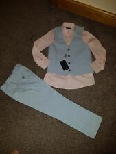 Brand new boys 3 piece suit from next size 9yrs