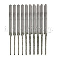 10P Engraving Hole Saw Drill Bit 1.5mm Extended Lapidary Diamond Coated Gems