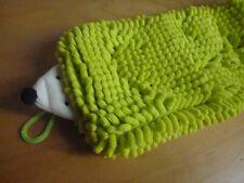 Cute! Hedgehog Pile Fabric Hanging Hand Towel