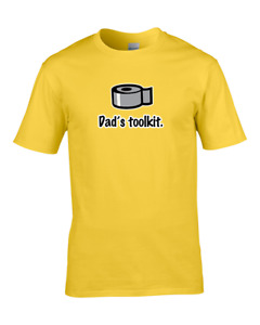 DAD'S TOOLKIT- DIY disaster Dad- Funny  Mens T-shirt