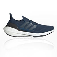adidas Mens Ultra Boost 21 Running Shoes Trainers Sneakers Navy Blue Sports