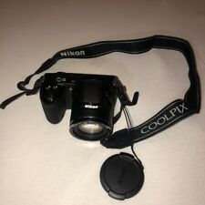 Nikon Coolpix L340 (Point & Shoot) with Camera Bag - Used