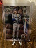 2020 Topps Chrome Update Bo Bichette Rookie Debut RC - Toronto Blue Jays, #U-51