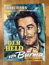 Held von Burma (Kinoplakat ´60) - Errol Flynn