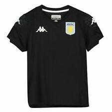Kappa Official Kids Aston Villa FC Home Goalkeeper Football Shirt Jersey 2019-20