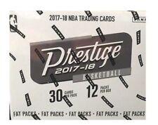 2017/18 Panini Prestige Basketball Fat Pack Box FACTORY SEALED 1 AUTO PER BOX