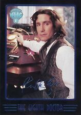 Doctor Who Cornerstone Series Four 8th Doctor Factory Set Exclusive Card