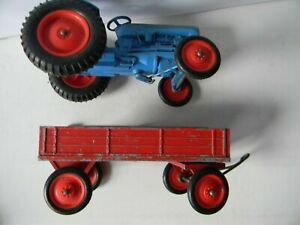"EARLY  CRESCENT  5 "" FORDSON TRACTOR AND TRAILER"