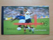 QC COLLEZIONE GB ALBUM 1996 Campionato Europeo di Calcio FRANCOBOLLO Prestige LIBRO