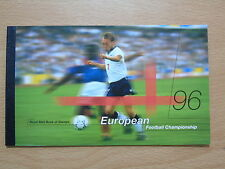 QC COLLECTION GB ALBUM 1996 EUROPEAN FOOTBALL CHAMPIONSHIP PRESTIGE STAMP BOOK