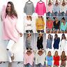 Women Long Sleeve Knit Jumper Sweater Tops Pullover Knitwear Shirt Winter Warm