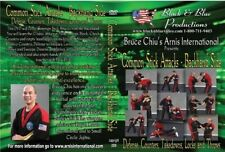 Bruce Chiu Arnis Common Stick Attacks Backhand Dvd counters takedowns throws