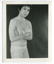Mature Woman Big Dangling Boobs Nipples 1950 Original  Photo  B4899