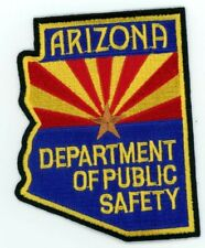 ARIZONA DEPARTMENT OF PUBLIC SAFETY STATE SHAPED PATCH POLICE SHERIFF