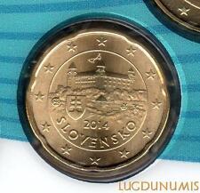 Slovaquie - 2014 - 20 Centimes d'euro FDC Provenant BU 25000 exemplaires - Slove