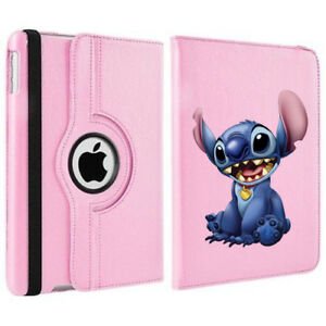 Stitch Disney's Lilo 360 Rotating Case Cover Stand For Apple iPad