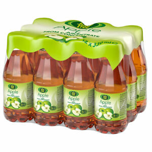Juice Tree Apple Juice 12 x 330ml From Concentrate No Added Sugar Lunchbox