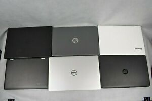 JOB LOT/Bundle 6 Laptops Windows 10 8 IT Bulk Buy Repair Spares Computer HP Dell