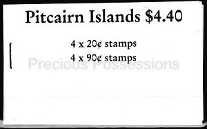PITCAIRN ISLANDS MNH STAMP BOOKLET 1988 SHIPS SG 318X4 323X4
