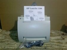 HP LaserJet 1100 Laser Printer Refurbed By Authorized hp technici60 day warranty