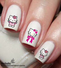 Hello Kitty Nail Sticker Water Transfer Art Decal wrap 61