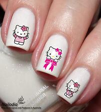 Hello Kitty Nail Sticker Water Transfer Art Decal 61