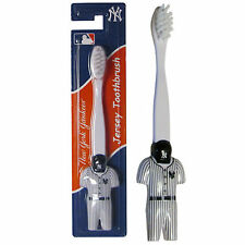 New York Yankees Soft Toothbrush MLB Licensed Baseball Jersey Uniform Helmet