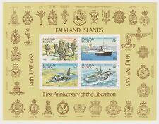 FALKLAND ISLANDS - 1983 Liberation Anniversary Souvenir Sheet, Mint (L31)