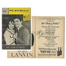 "Stephen Sondheim - Autographed ""Do I Hear a Waltz?"" Premier Playbill, 1965"