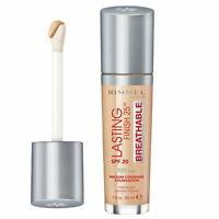 Rimmel Lasting Finish 25hr Breathable Foundation 100 Ivory - Makeup Warehouse