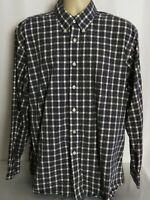 Pendleton Long Sleeve Button Down Boulevard Shirt Check Mens Size XL