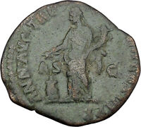 COMMODUS son of Marcus Aurelius Ancient Roman Coin Annona   i45655