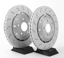 Genuine Audi RS4 Rear Set of Brake Discs - Suitable For Models 2006-2009