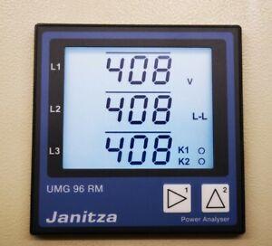 JANITZA UMG 96RM-M Netzanalyse Messgerät Analyzer M-Bus (5222039) ***ANGEBOT***