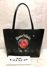 Disney x Coach 31152 Dark Fairy Tale Snow White POISON APPLE Market Tote Bag NWT